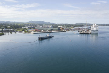 Dredging wraps up at Lautoka Wharf