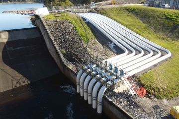 Work progressing on $24 million dam upgrade