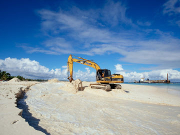 Tuvalu Borrow Pit Reclamation Project