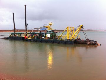 FMG Port Facility Tailings Pond Dredging
